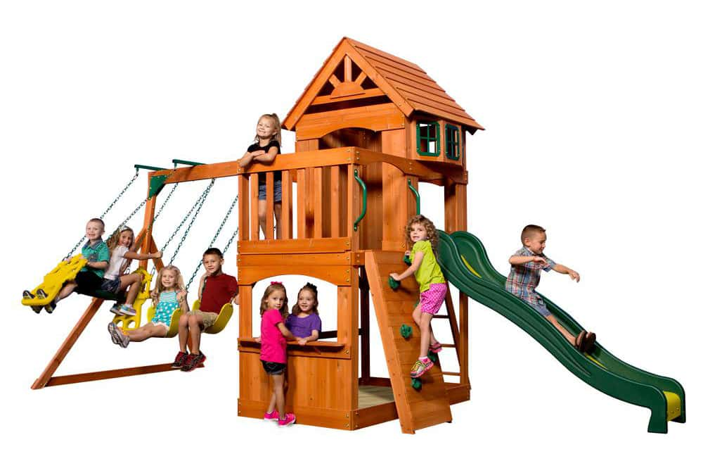 Best Outdoor Playhouses With Slide For Toddlers And Kids Reviewed