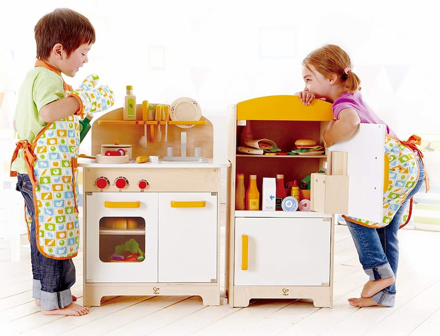 5 Best Wooden Play Kitchens for Kids Review – Top Toy ...