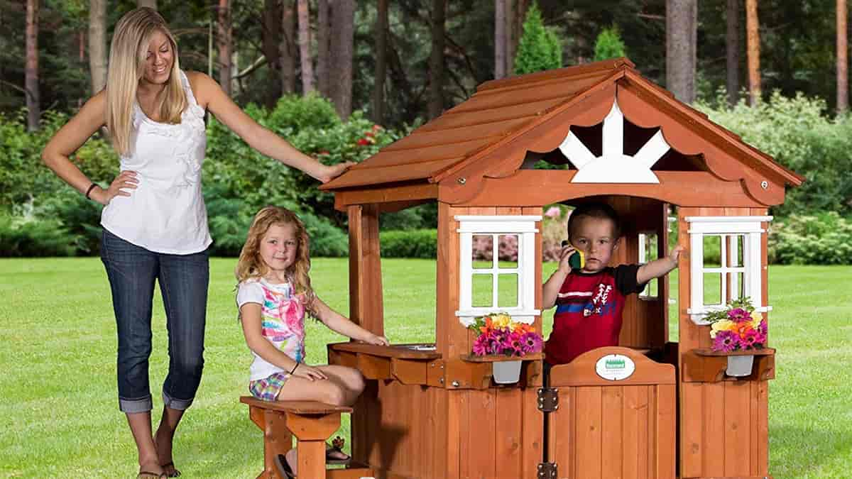 Best Outdoor Playhouses For Kids And Toddlers Reviewed In November 2020 Top 9 Playhouses For Kids Bestbabykit Com