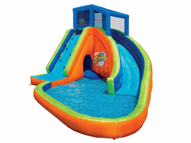 Sidewinder Falls Inflatable Water Park by Banzai Review