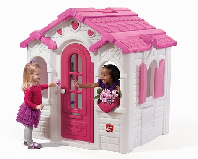 Sweetheart Playhouse, Pink and White by Step2 Review