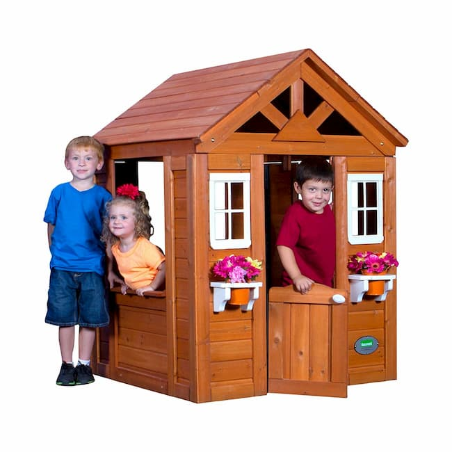 Timberlake All Cedar Wood Playhouse by Backyard Discovery Review