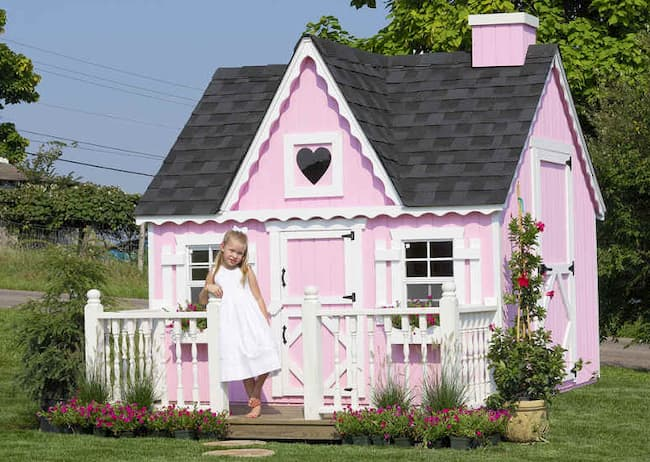 Victorian DIY Playhouse by Little Cottage Company Review
